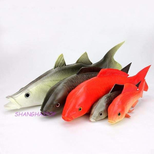 Fake artificial fish carp arowana perch realistic garden for Arowana tank decoration