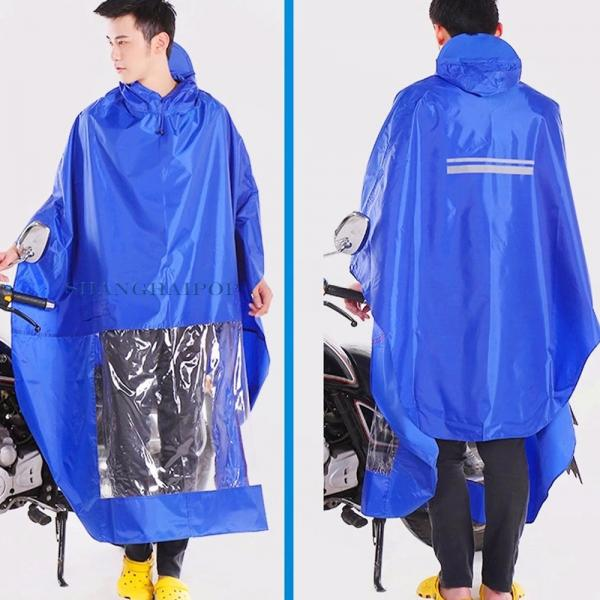 homme femme cyclisme moto scooter pluie poncho cape manteau imperm able neuf ebay. Black Bedroom Furniture Sets. Home Design Ideas