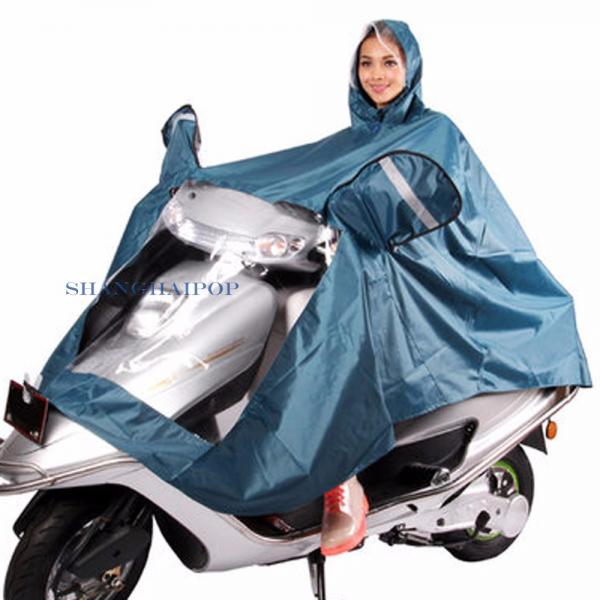herren damen roller motorrad fahrrad regencape poncho. Black Bedroom Furniture Sets. Home Design Ideas