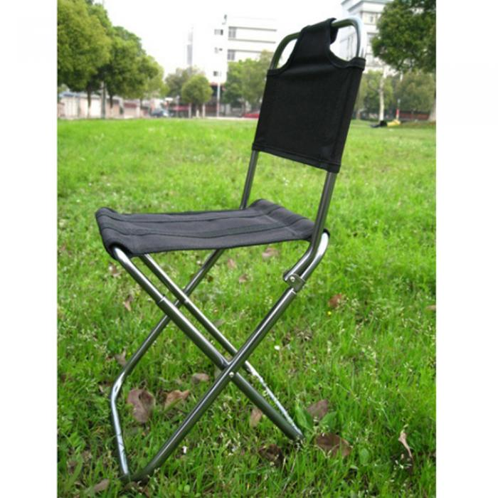 Portable Folding Fishing Chair Outdoor Camping Hunting Garden Stool Carry Bag