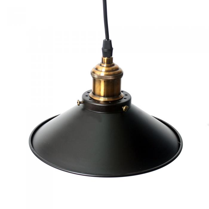 Metal Wall Lamp Shades : Vintage Industrial Metal Ceiling Hanging Wall Lamp Farmhouse Cafe Light Shades eBay