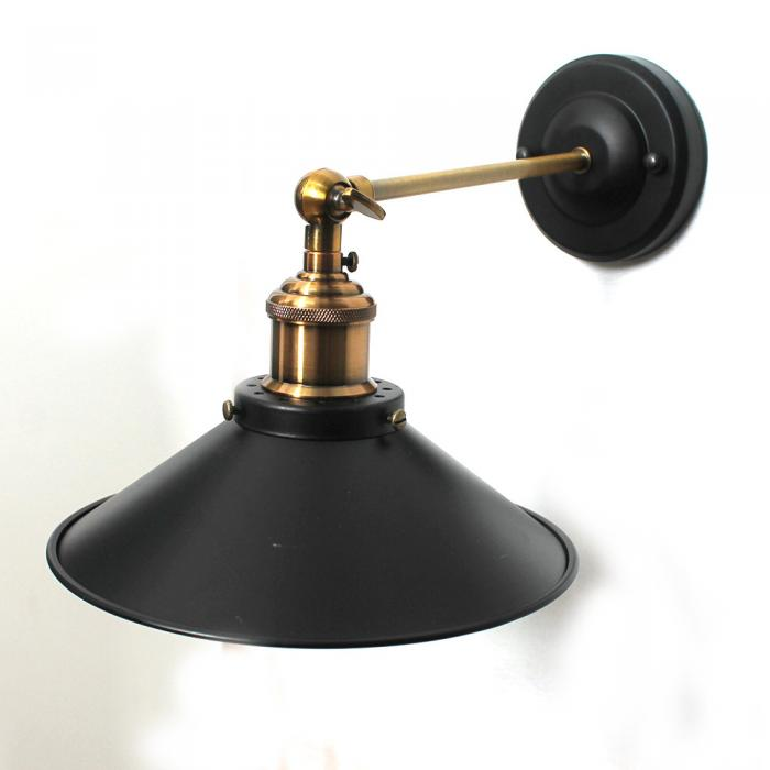 Vintage Industrial Metal Ceiling Hanging Wall Lamp Farmhouse Cafe Light Shades eBay