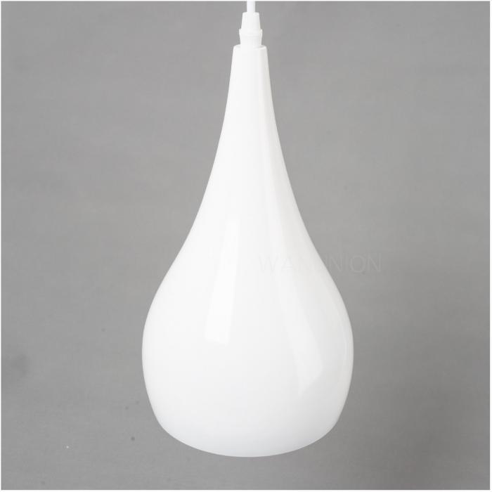 Modern white diy cafe ceiling chandelier pendant light drop lighting fixture ebay - Diy pendant light fixture ...