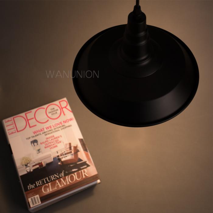 Industrial Pendant Chandelier Ceiling Edison E27 Light