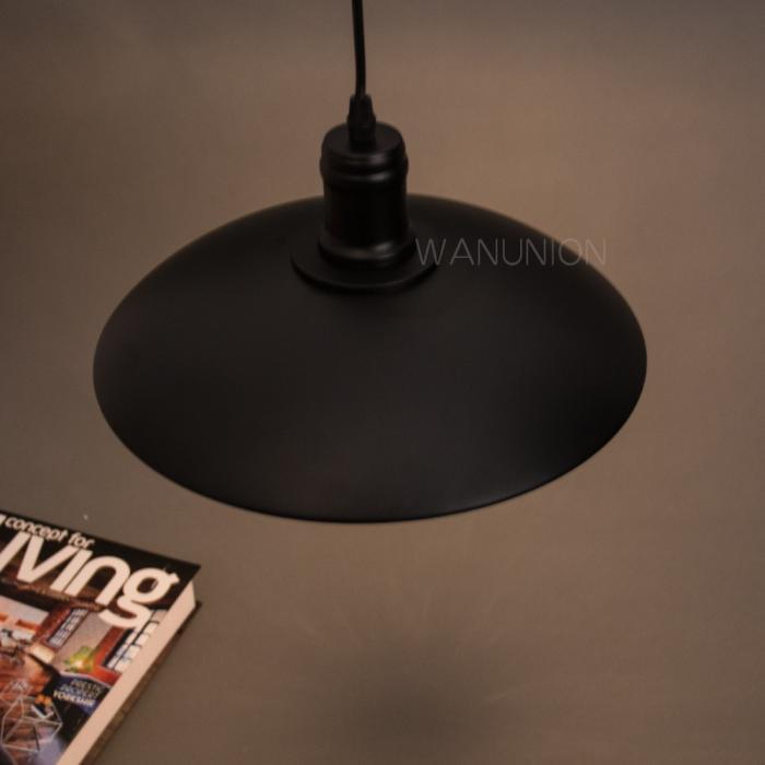 Metal Lamp Shade Ceiling Light Vintage Chandelier Pendant