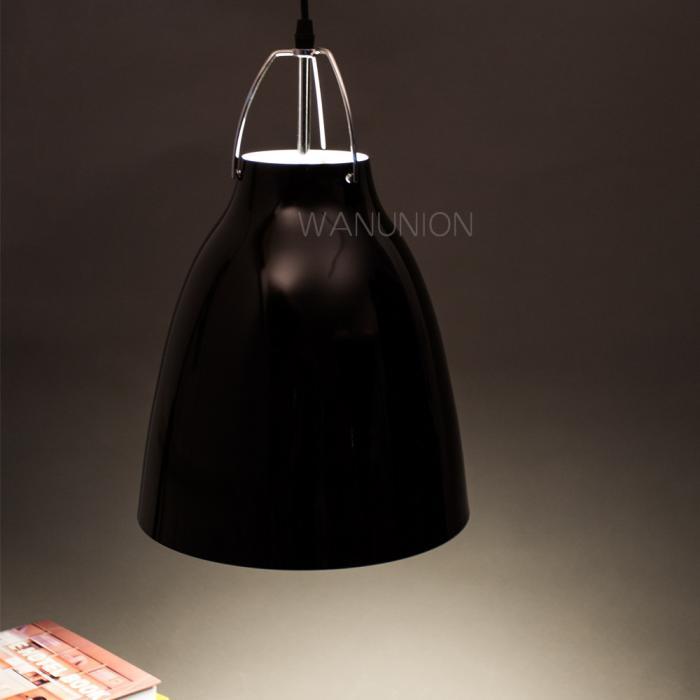 Industrial Bell Pendant Light: Modern Industrial Metal Bell Chandelier Pendant Ceiling