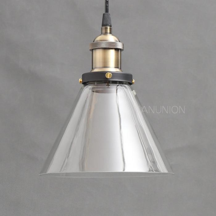 vintage industrial diy ceiling light shade pendant glass