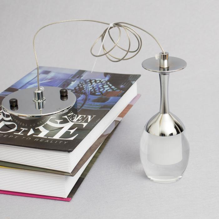 Modern Wine Glasses Bar DIY Chandelier Ceiling Light ...