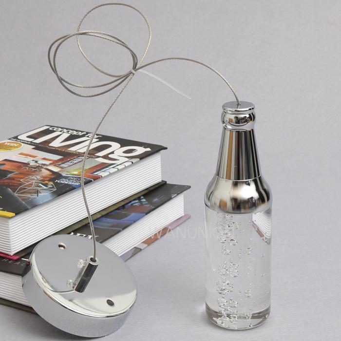 Modern wine bottle led ceiling light pendant lamp fixture lighting chandelier ebay - Wine bottle light fixture chandelier ...