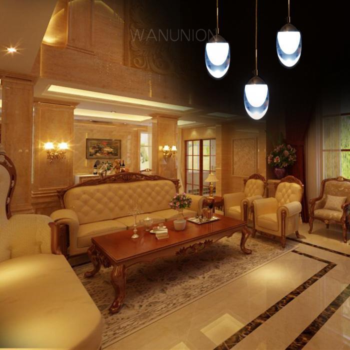 modern led chandelier ceiling pendant dining room lighting