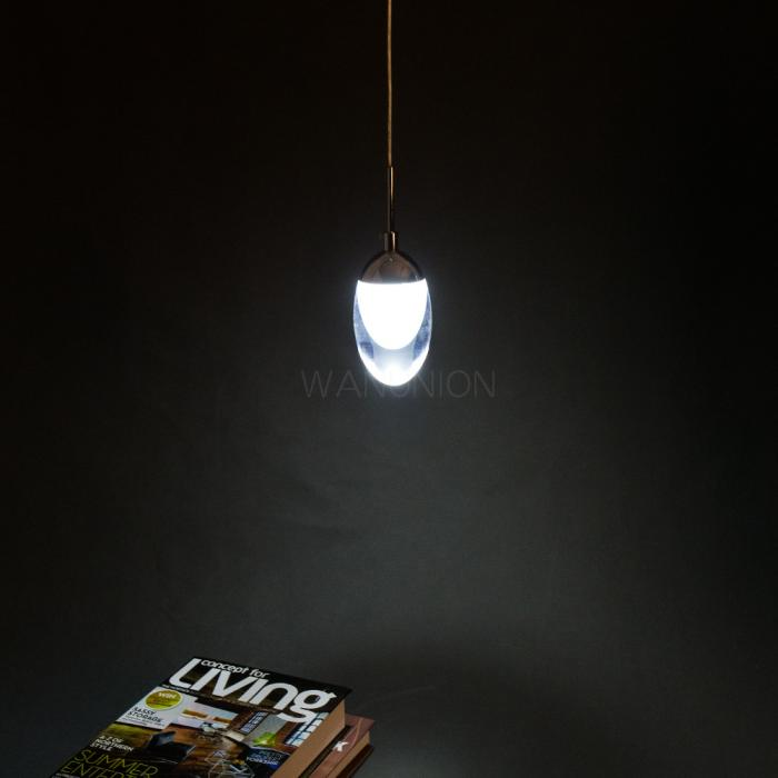 Diy led lamp lighting home decoration acrylic pendant for Diy led chandelier