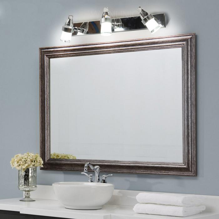 modern led mirror stainless bathroom vanity light wall sconce cabinet fixture ebay. Black Bedroom Furniture Sets. Home Design Ideas