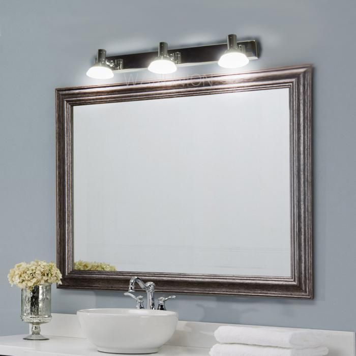 Modern Led Mirror Stainless Bathroom Vanity Light Wall Sconce Cabinet Fixture Ebay