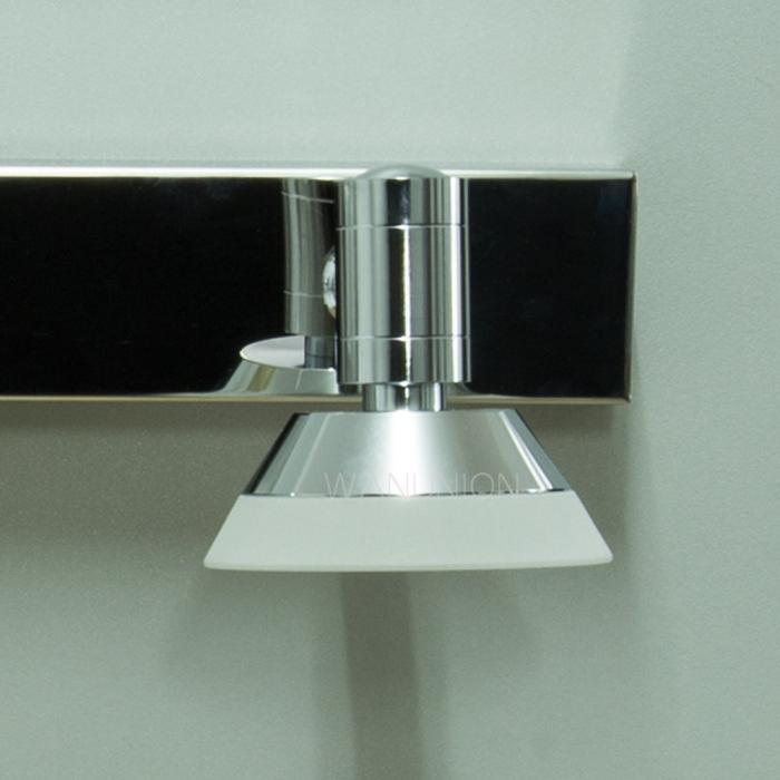 Led Wall Sconce Light Fixtures : 3*3W LED Modern Acrylic Mirror Bathroom Vanity Light Wall Sconce Cabinet Fixture