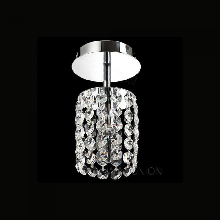 Small Hallway Lights: Modern Crystal Small Chandelier Ceiling Lamp Pendant Light