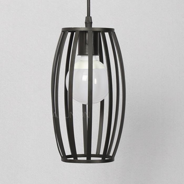 Vintage industrial diy cage ceiling pendant light chandelier lamp fixture shade ebay - Diy pendant light fixture ...