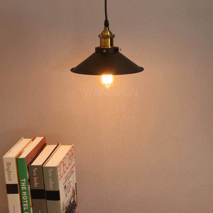Vintage Retro Industrial Metal DIY Loft Ceiling/ Pendant / Wall Lamp Light Shade eBay