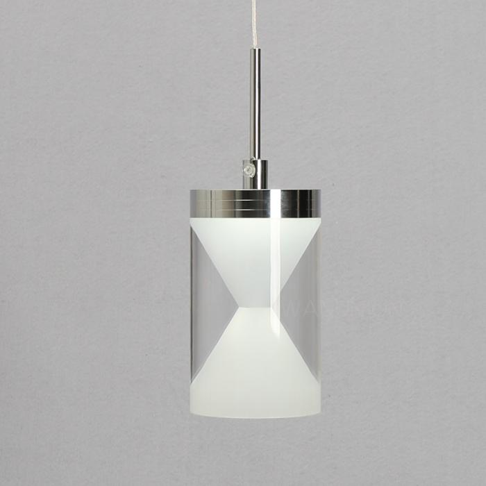 Modern acrylic 6 led diy ceiling light pendant lamp for Diy led chandelier