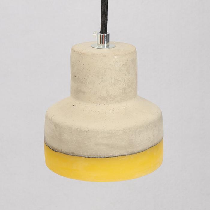 Industrial Pendant Light Concrete Cement Lamp Ceiling ...