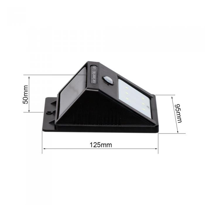 6 LED Outdoor Wireless Solar Powered Motion Sensor Light