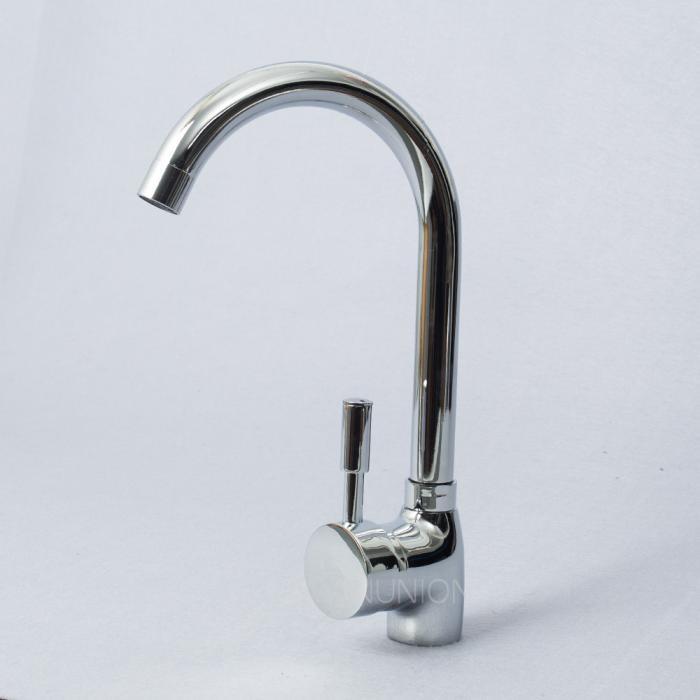 Swivel kitchen basin hot cold sink mixer brass tap spray faucet shower head ebay - Shower head for kitchen sink ...