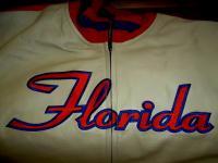 NCAA FLORIDA GATORS GENUINE LEATHER LICENSED JACKET SIZE 2X-Large VINTAGE NEW