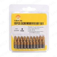 10Pc PZ2 x 25mm Standard Professional Trade Quality POZI SCREWDRIVER BIT SET