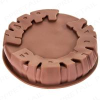 Lets Get Baking Round Shaped Cake Pan Tin Circle Shape Silicone Mould Tray