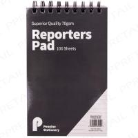 """Reporters Note Pad Shorthand Spiral Bound Note Pads Feint Ruled 5/""""x 8/"""""""
