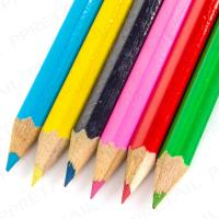 50x 6 MINI COLOURING CHILDRENS PENCILS BUMPER PACK Small Party Bag Fillers Kids