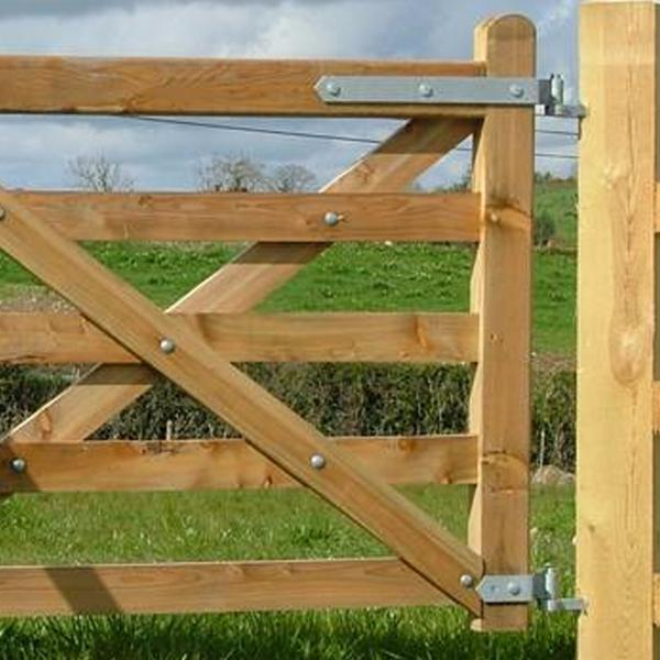 Heavy Duty Part Fully Adjustable Field Gate Hinges