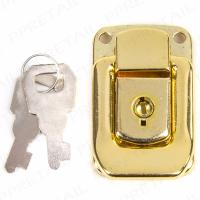 1 x PADLOCK LOCKABLE TOGGLE CATCH Locking Chest Suit Case Latch Lock Large