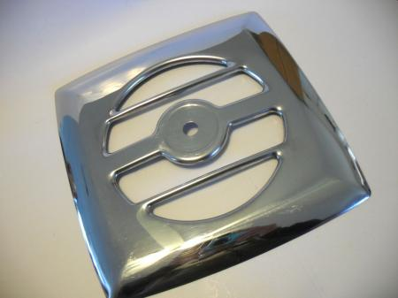 Vintage Chrome Exhaust Fan Grill Vent Cover Kitchen Bathroom Camper Trailer Rv Ebay