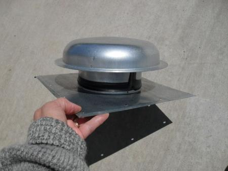 New Vtg Style Trailer Rv 5 Quot Roof Pipe Vent Cover Camper Ebay