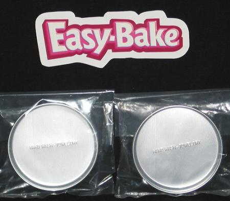 2 New Easy Bake Oven Replacement Pans Cooking Baking Ebay