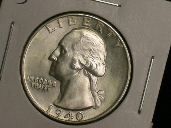 Nearly Gem Very Choice Uncirculated 1932 Washington Quarter -