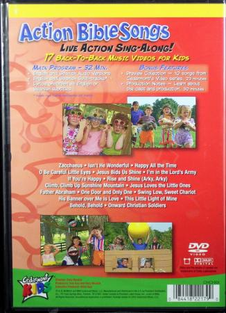 Cedarmont Kids Action Bible Songs