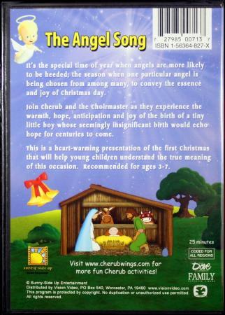 cherub wings presents the angel song christmas episode 3 new kids christian dvd 727985007137 ebay. Black Bedroom Furniture Sets. Home Design Ideas