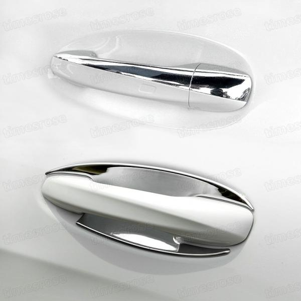 9pcs Chrome Outer Side Car Door Handle Cover Fit for 2017 Mercedes Benz E-Class