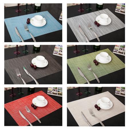 4 x Küche Tischset Platzdeckchen Platzset abwaschbar