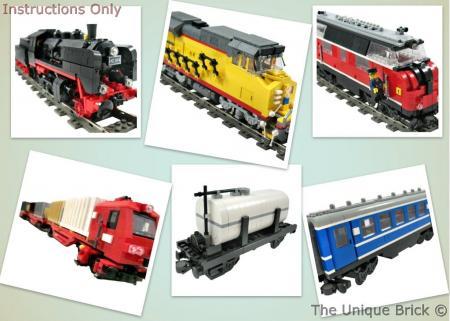 Lego Train Custom Instructions Pdf