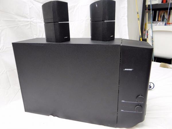bose acoustimass 25 series ii speaker pair and powered subwoofer system ebay. Black Bedroom Furniture Sets. Home Design Ideas