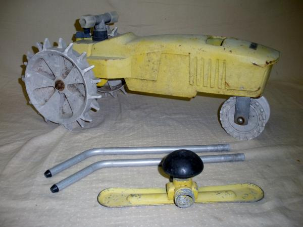 Nelson Tractor Sprinkler Parts Repair : Nelson rain train traveling tractor sprinkler w box