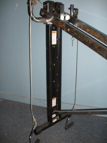 chuck norris excercise machine