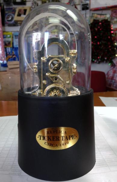 Stock Market Ticker Tape Dispenser