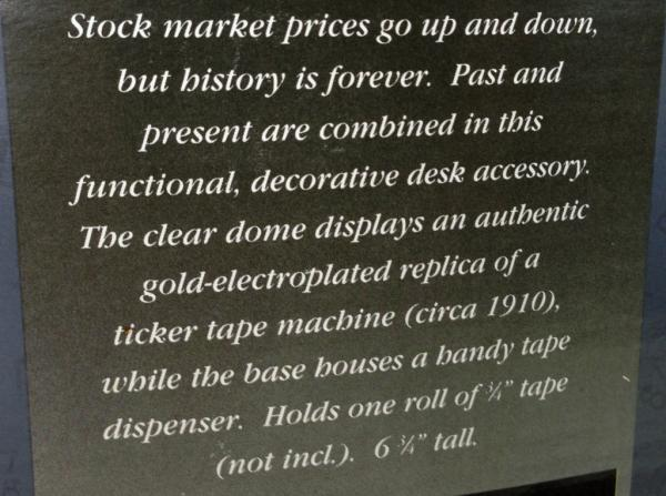 ticker machine ebay