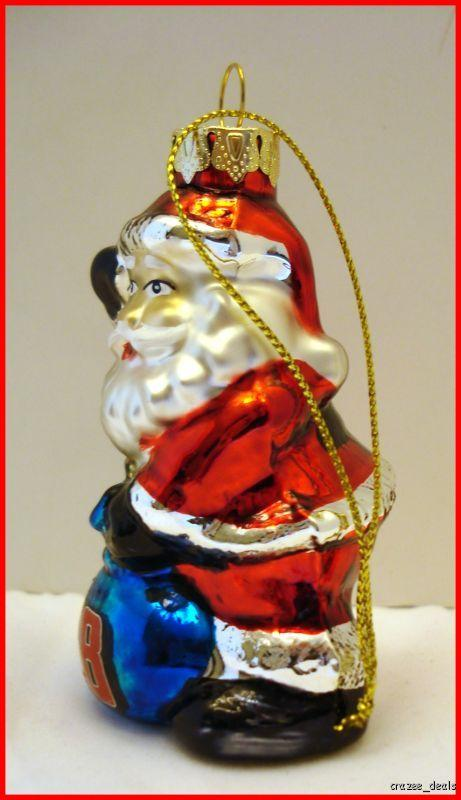 Nascar dale earnhardt jr christmas tree ornament santa