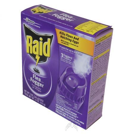 Raid 6 Pack 5oz each Kills Fleas and Eggs Flea Killer Plus ...