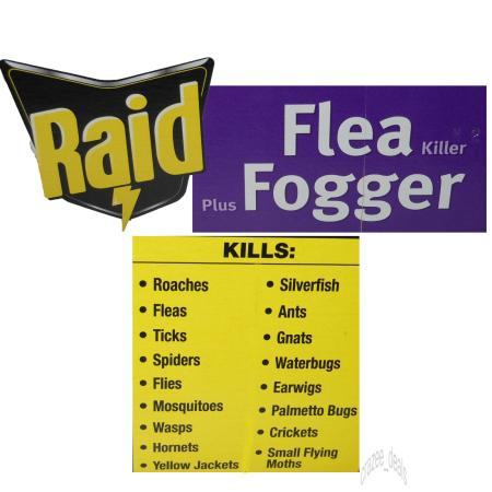 Raid flea bomb coupons