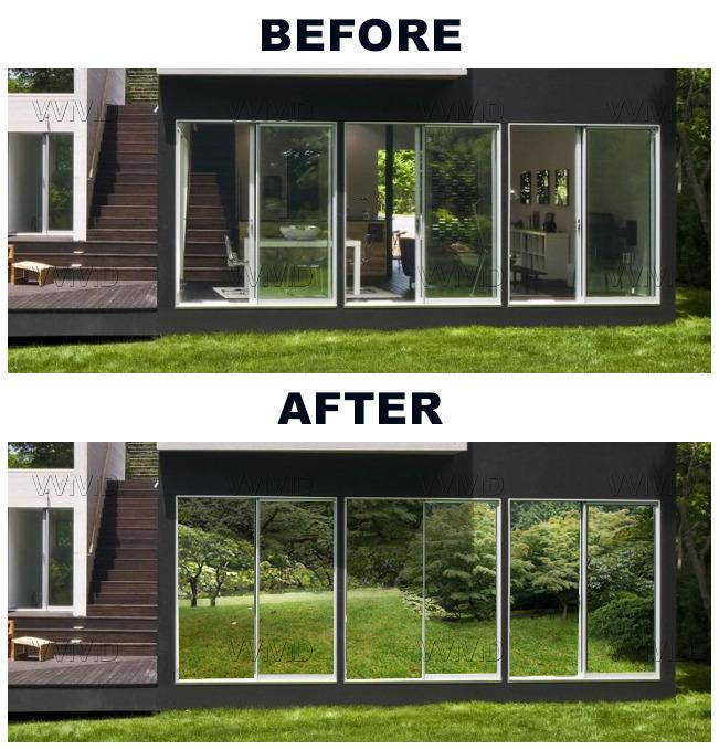 Click here to enlarge for 1 way window film